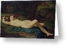 Bacchante Greeting Card