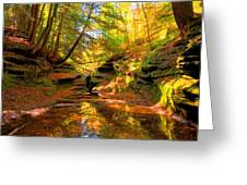 Bach Hollow Greeting Card