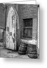 Back Alley Art Works Greeting Card