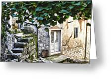 Back Alley Living Greeting Card