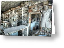 Back In 5 - The General Store, Bodie Ghost Town Greeting Card