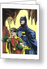 Back In The Batcave Greeting Card