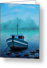 Back To Shore Greeting Card