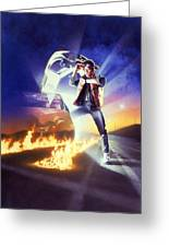 Back To The Future 1985 Greeting Card