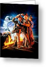 Back To The Future Part IIi 1990 Greeting Card