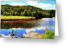Backbone State Park - Dundee, Ia Greeting Card