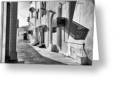 Backstreet Of Muharraq, Bahrain. Greeting Card