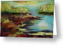 Backwater. Greeting Card