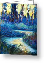 Backwater Light Greeting Card
