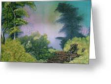 Backwoods Mist Greeting Card