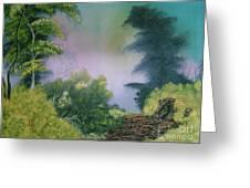 Backwoods Mist Greeting Card