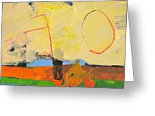 Backyard-4-garden-m- Greeting Card by Cliff Spohn
