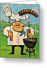 Backyard Bistro Greeting Card