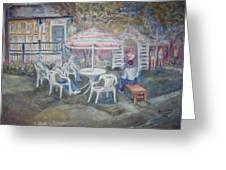 Backyard Cookout Greeting Card