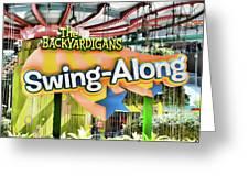 Backyardigans Swing-a-long Greeting Card