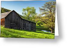 Bad Axe Barn Greeting Card