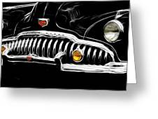 Bad Buick Greeting Card