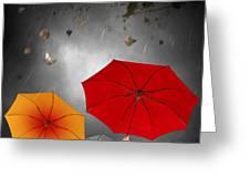 Bad Weather Greeting Card by Carlos Caetano