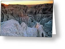 Badlands Greeting Card