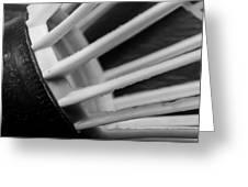 Badminton Shuttlecock Abstract Monochrome Greeting Card