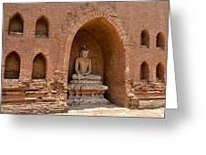 Bagan, Burma Greeting Card