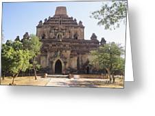 Bagan Sulamani Temple Greeting Card