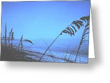 Bahama Blue Greeting Card