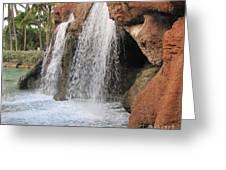 Bahama Waterfall Greeting Card