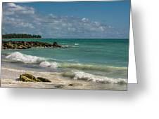 Bahamas Beach Greeting Card