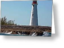 Bahamas Lighthouse Greeting Card