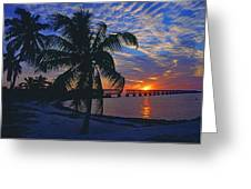 Bahia Honda State Park, Florida Keys Greeting Card