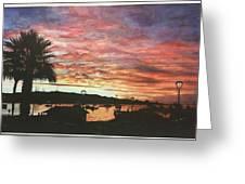 Bahia Inglesa Landscape  Greeting Card