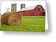 Bail And Barn Greeting Card