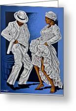 Baile De Figura Greeting Card by Samuel Lind