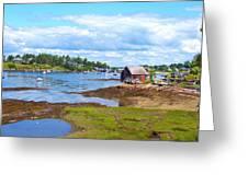 Bailey Island Lobster Shack Greeting Card