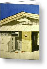 Bait Shop In Gasparilla Florida Greeting Card