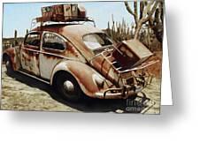 Baja Bug Greeting Card