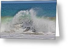 Baja Wave Greeting Card