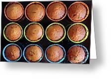 Baked Cupcakes Greeting Card