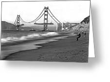 Baker Beach In Sf Greeting Card
