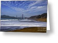 Baker Beach Greeting Card