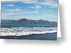 Baker Beach Panorama Greeting Card