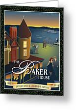 Baker House Endless Sunset Greeting Card