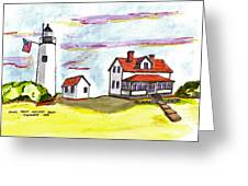 Bakers Island Salem Greeting Card