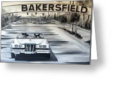 Bakersfield Greeting Card