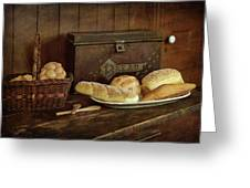 Baking Day - Bread Greeting Card