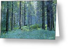 Balaam.thick Of The Forest Greeting Card