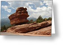 Balance Rock Greeting Card