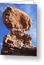 Balanced Rock 2 Greeting Card