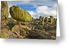 Balanced Rock Formation Greeting Card